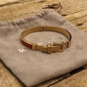 Authentic Michael Kors buckle bracelet